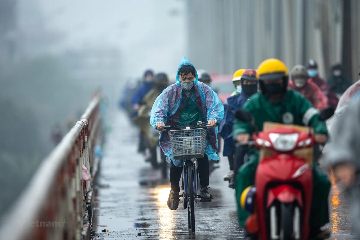 Bắc Bộ mưa dông, đề phòng lốc sét, gió giật mạnh