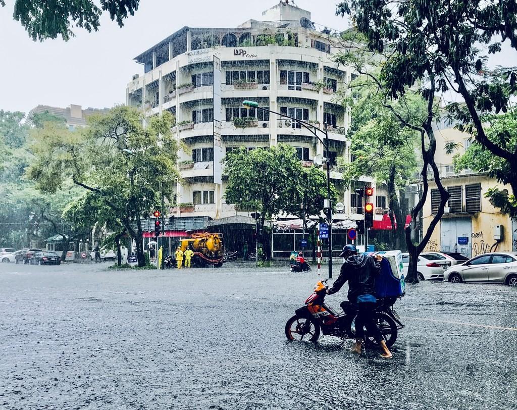 Các khu vực trên cả nước đều có mưa dông
