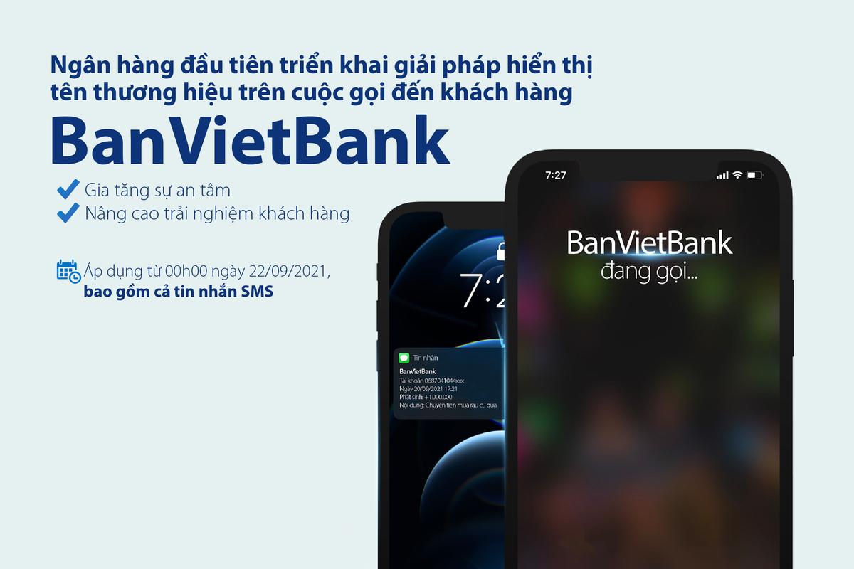 Bản Việt tiên phong triển khai hiển thị tên thương hiệu khi gọi đến khách hàng