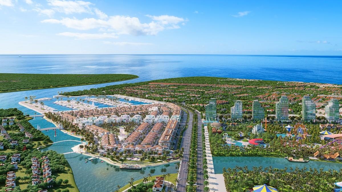 """Ra mắt """"thành phố nghỉ dưỡng ven sông đa sắc màu"""" Sun Riverside Village tại Sầm Sơn"""