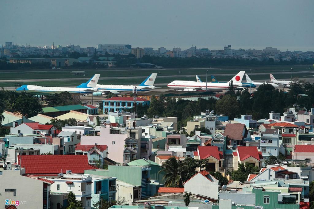 Sân bay Đà Nẵng những ngày đặc kín chuyên cơ lãnh đạo
