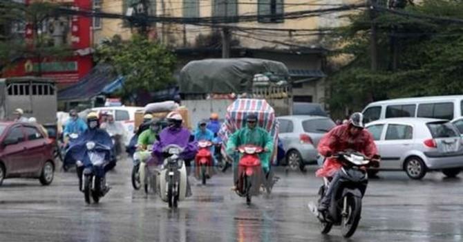 Bắc Bộ tiếp tục mưa dông