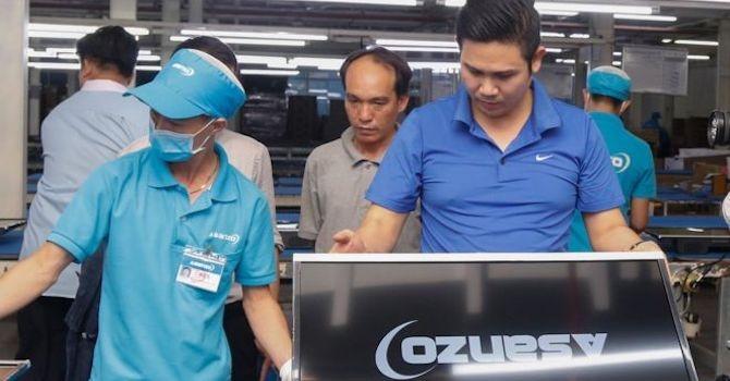 """VCCI: """"Asanzo ghi nhãn xuất xứ Việt Nam cho hàng lắp ráp từ linh kiện nhập khẩu là đúng quy định"""""""