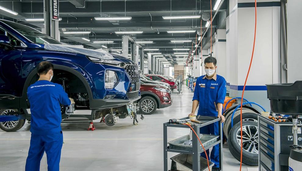 Ngành sản xuất xe khôi phục lại hoạt động sau 3 tuần cách ly xã hội