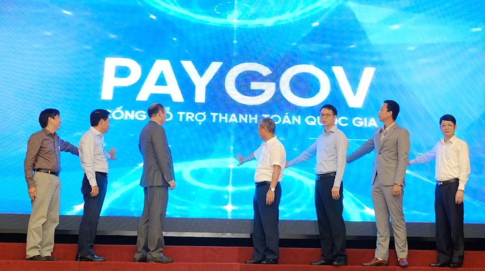 Chính thức ra mắt Cổng hỗ trợ thanh toán quốc gia PayGov