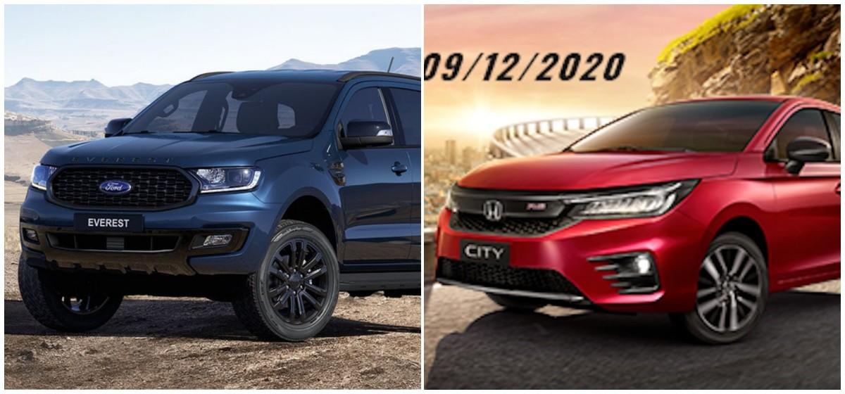 Honda City, Ford Everest sắp về Việt Nam, thị trường ô tô nóng trở lại