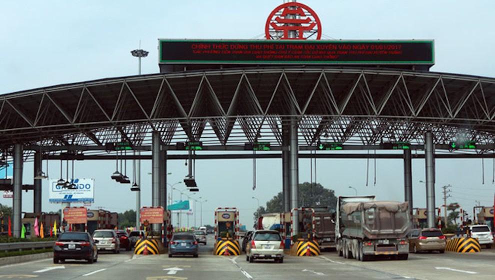 Thu 12,6 nghìn tỷ phí sử dụng đường bộ từ 62 dự án BOT trên cả nước