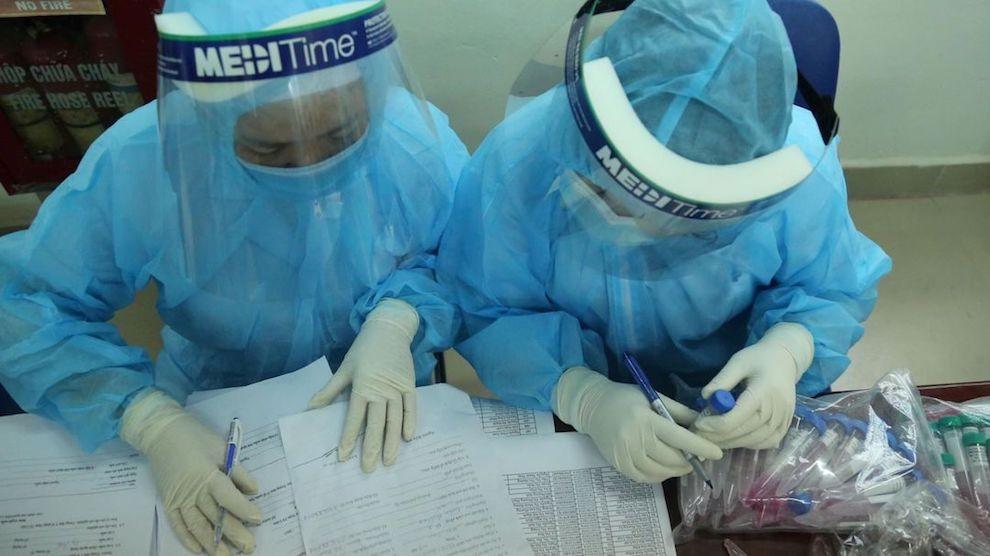 Chiều 2/3, không có ca nhiễm COVID-19, BN1958 tại Hà Nội tái dương tính