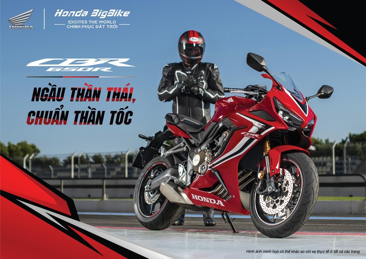 Honda ra mắt loạt motor nhập khẩu nguyên chiếc từ Thái Lan
