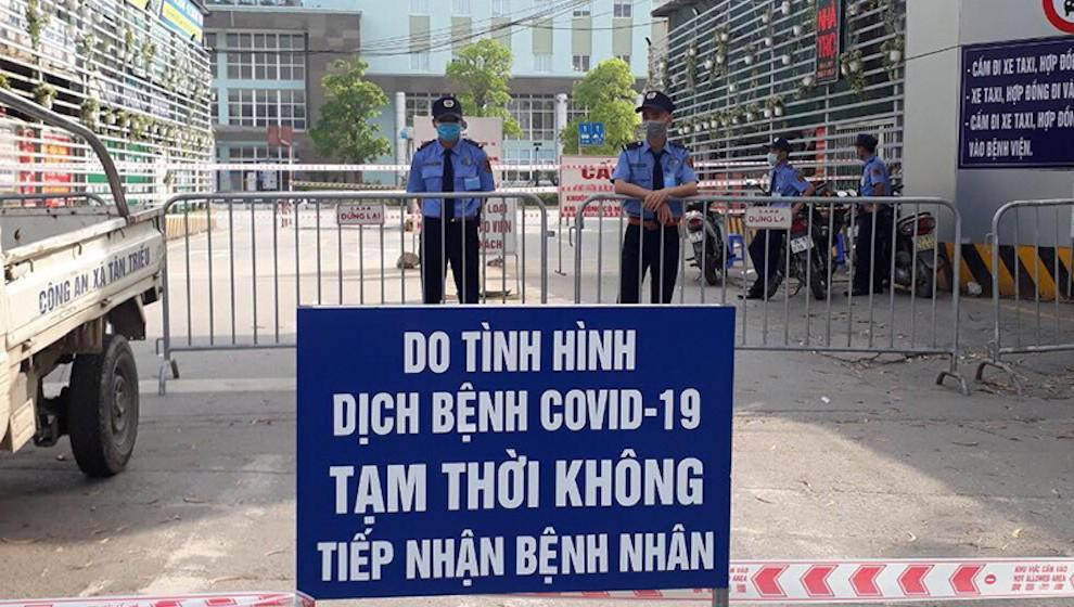 Phong tỏa bệnh viện K, ghi nhận thêm 3 ca tại Hà Nội và 4 ca tại Bắc Ninh