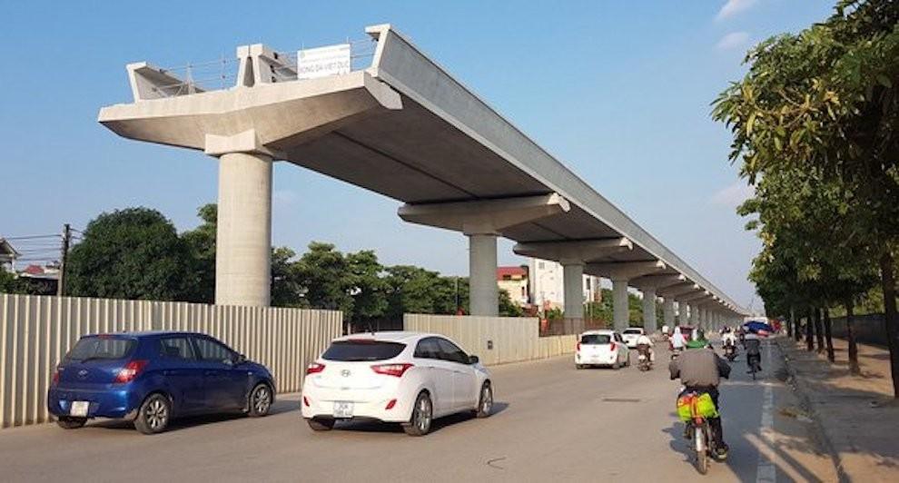 Thuê tư vấn thẩm tra Báo cáo tiền khả thi tuyến đường sắt trên cao Văn Cao - Hoà Lạc