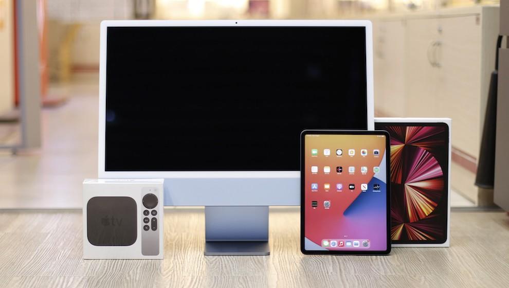 iPad Pro M1, iMac M1 và Apple TV lên kệ sớm ở Việt Nam