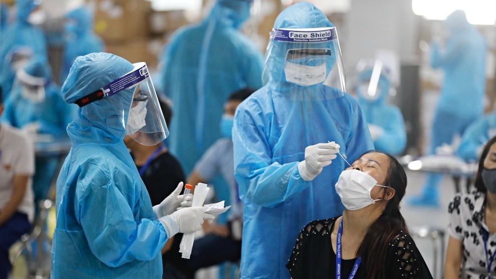 Việt Nam ghi nhận số ca nhiễm COVID-19 tăng trở lại ngày thứ 2 liên tiếp