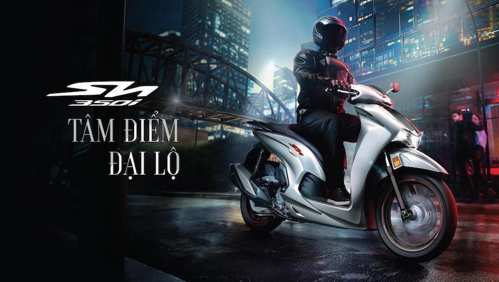 Honda ra mắt SH350i sản xuất tại Việt Nam, giá rẻ bằng nửa xe nhập khẩu