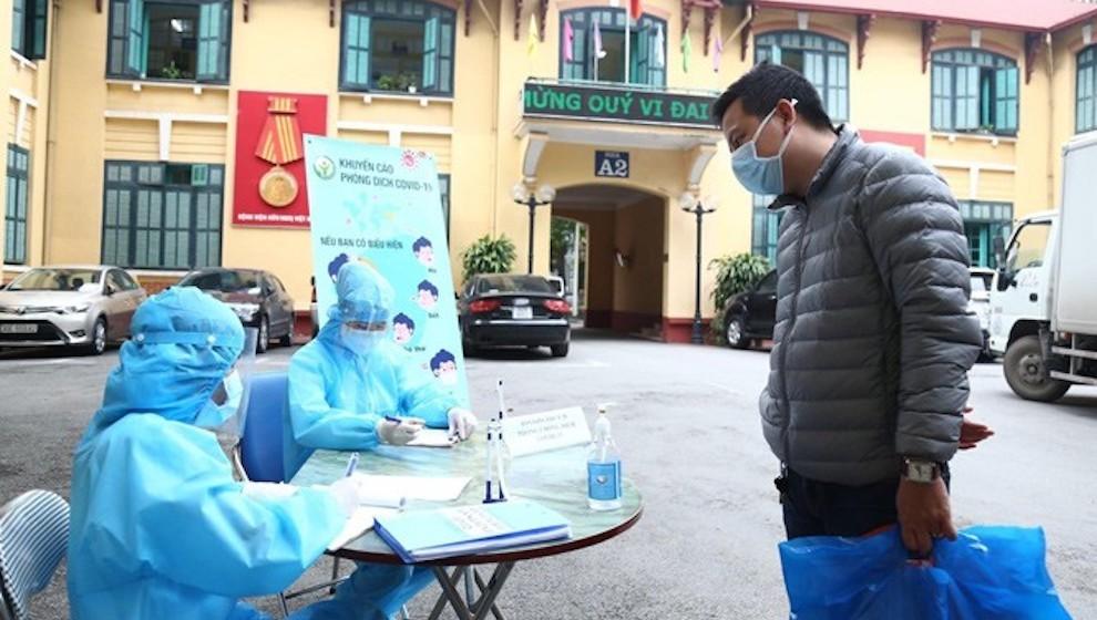 Số ca nhiễm COVID-19 liên quan chùm ca tại Bệnh viện Việt Đức vẫn chưa dừng lại
