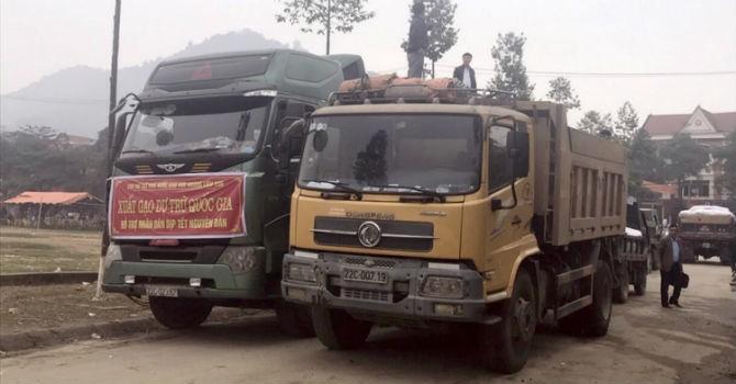 Hơn 717 tấn gạo dự trữ hỗ trợ người dân 3 tỉnh trong dịp Tết Nguyên đán