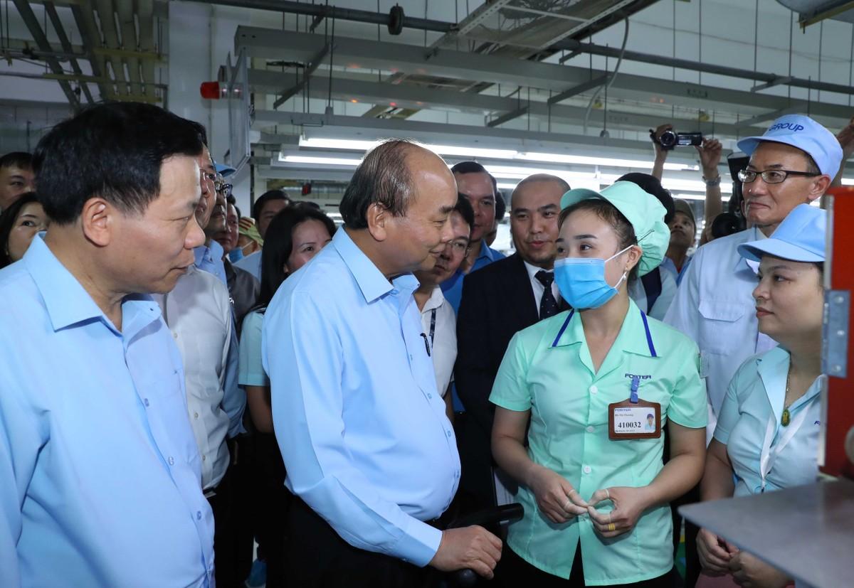Thủ tướng đề nghị Bắc Ninh giải quyết vấn đề bức xúc cho công nhân, người lao động