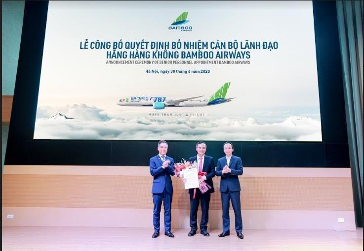 Nguyên Giám đốc Hàng không Thiên Minh về làm Phó Tổng giám đốc Bamboo Airways