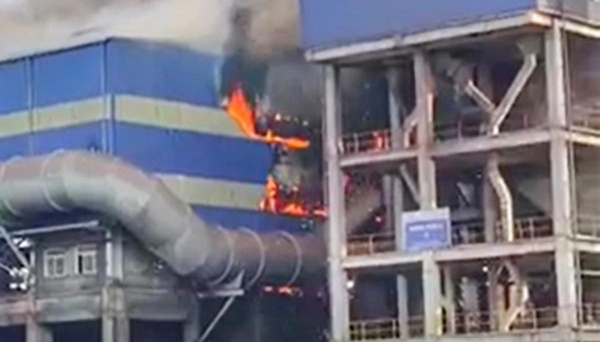 Cháy tại khu Liên hợp gang thép Hoà Phát Dung Quất, khắc phục sau 2-3 ngày