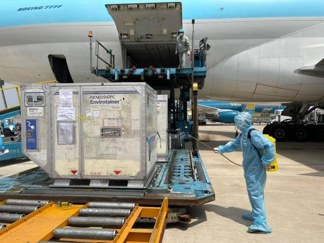 Vietnam Airlines đề xuất vận chuyển vaccine COVID-19