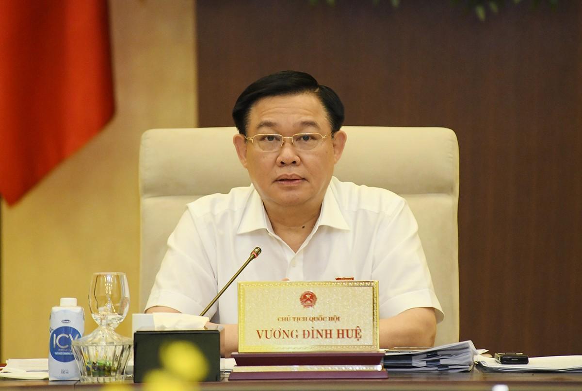 Chủ tịch Quốc hội đề cập rủi ro lạm phát, ảnh hưởng kinh tế vĩ mô