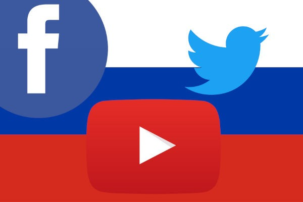 """Nga """"nắn gân"""" Facebook, Twitter, YouTube thế nào?"""