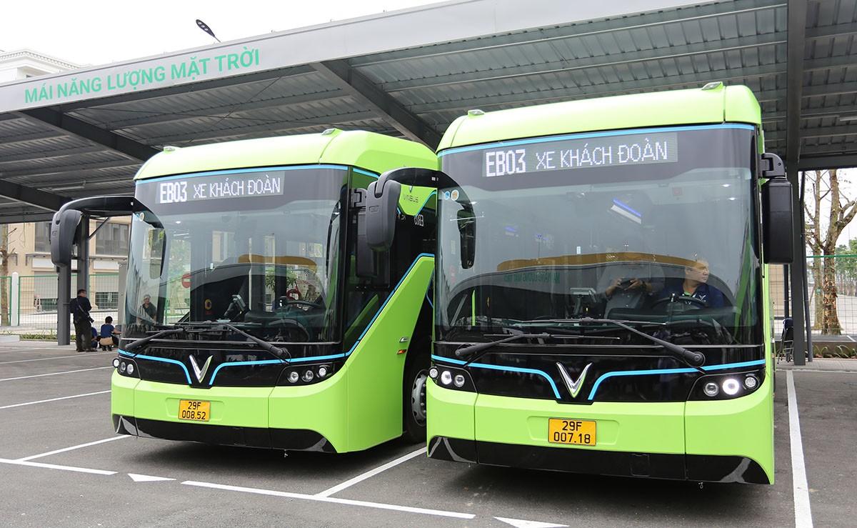 VinBus vận hành xe buýt điện thông minh đầu tiên ở Việt Nam