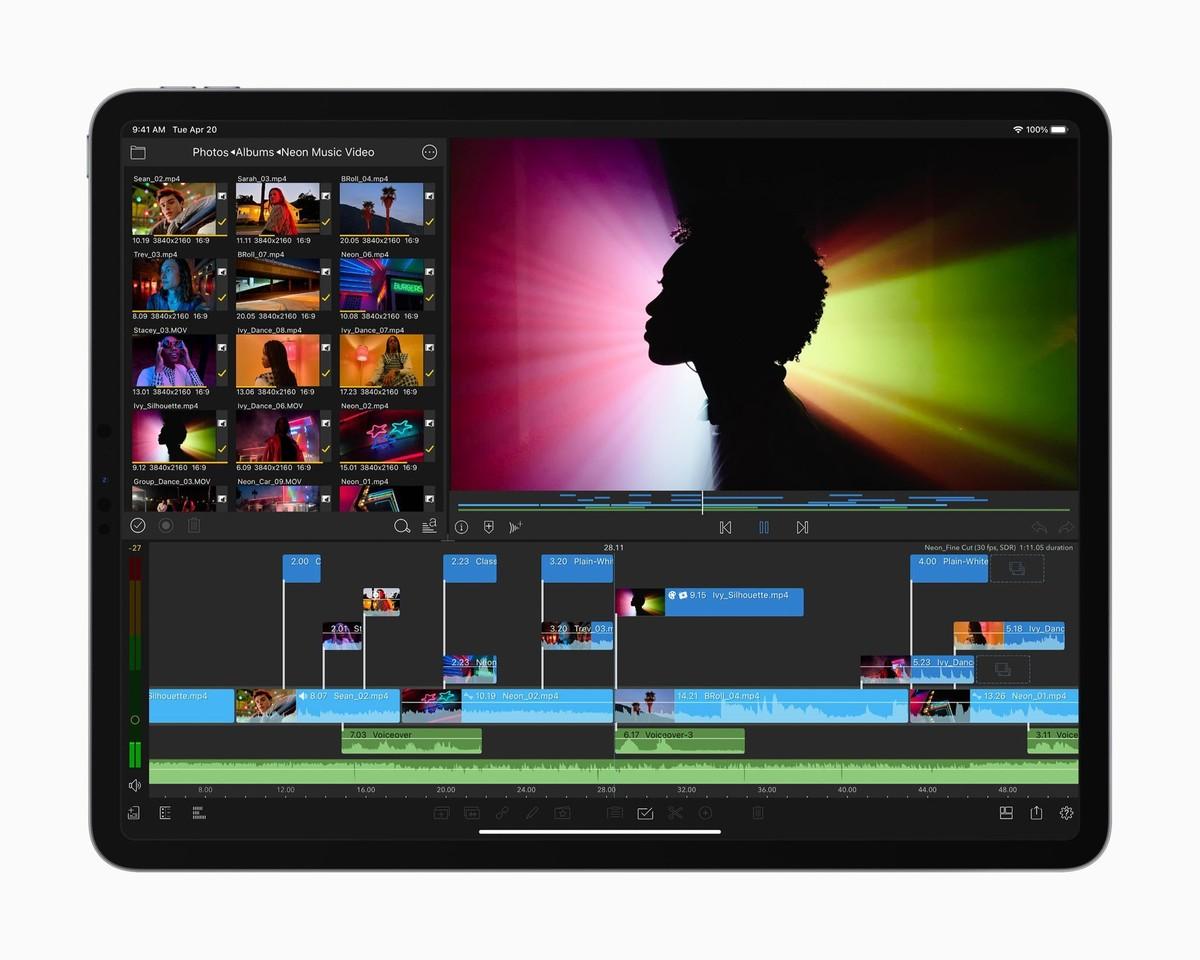 iPad Pro M1 vừa được Apple giới thiệu có giá từ gần 22 triệu đồng ở Việt Nam