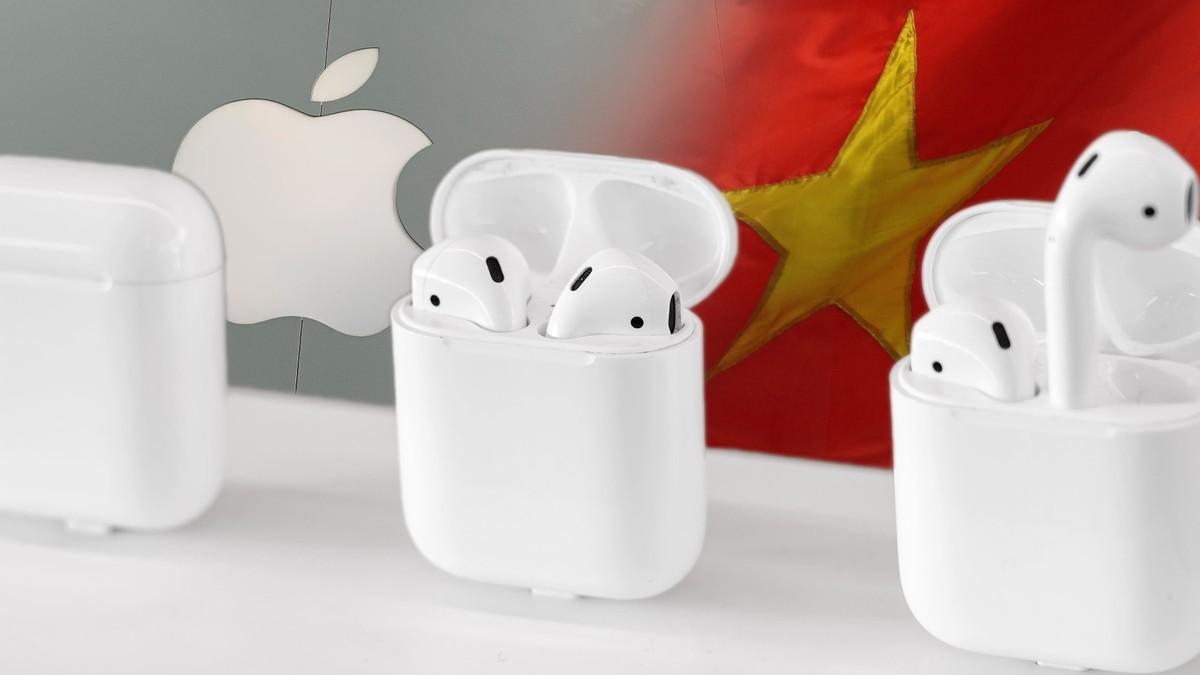 Apple giảm mạnh sản lượng tai nghe AirPods sản xuất ở Việt Nam