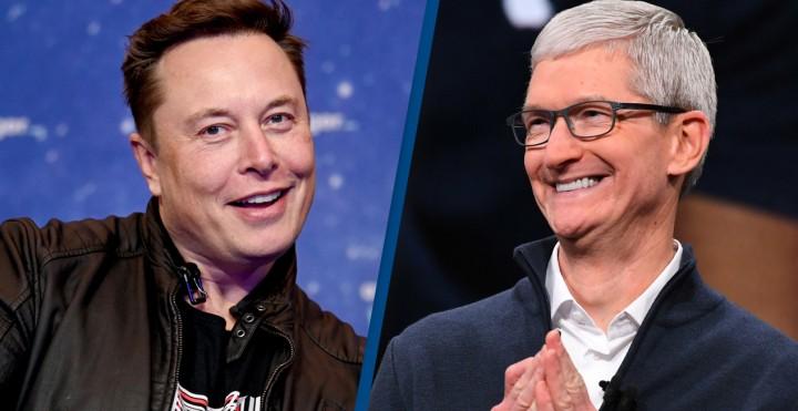 """Tại sao Elon Musk liên tiếp """"khiêu chiến"""" Apple?"""