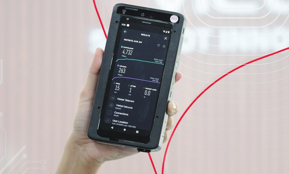Mạng 5G Viettel lập kỷ lục về tốc độ truyền dữ liệu