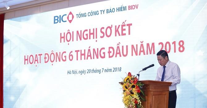 BIC: 6 tháng lợi nhuận tăng trưởng 37%, hoàn thành 66% kế hoạch năm