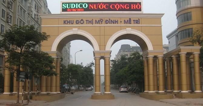 """Sudico và những dự án """"đắp chiếu"""" nghìn tỷ!"""