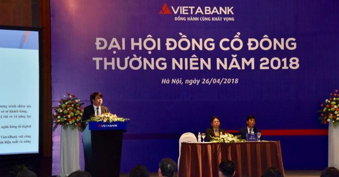 VietABank: Năm 2018, lên kế hoạch lợi nhuận 312 tỷ đồng