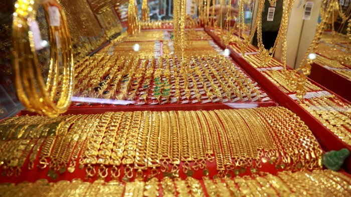 Giá vàng trong nước biến động trái chiều