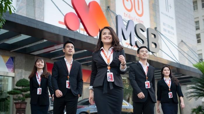 MSB chuẩn bị phát hành 18 triệu cổ phiếu ESOP, giá 10.000 đồng/cổ phiếu