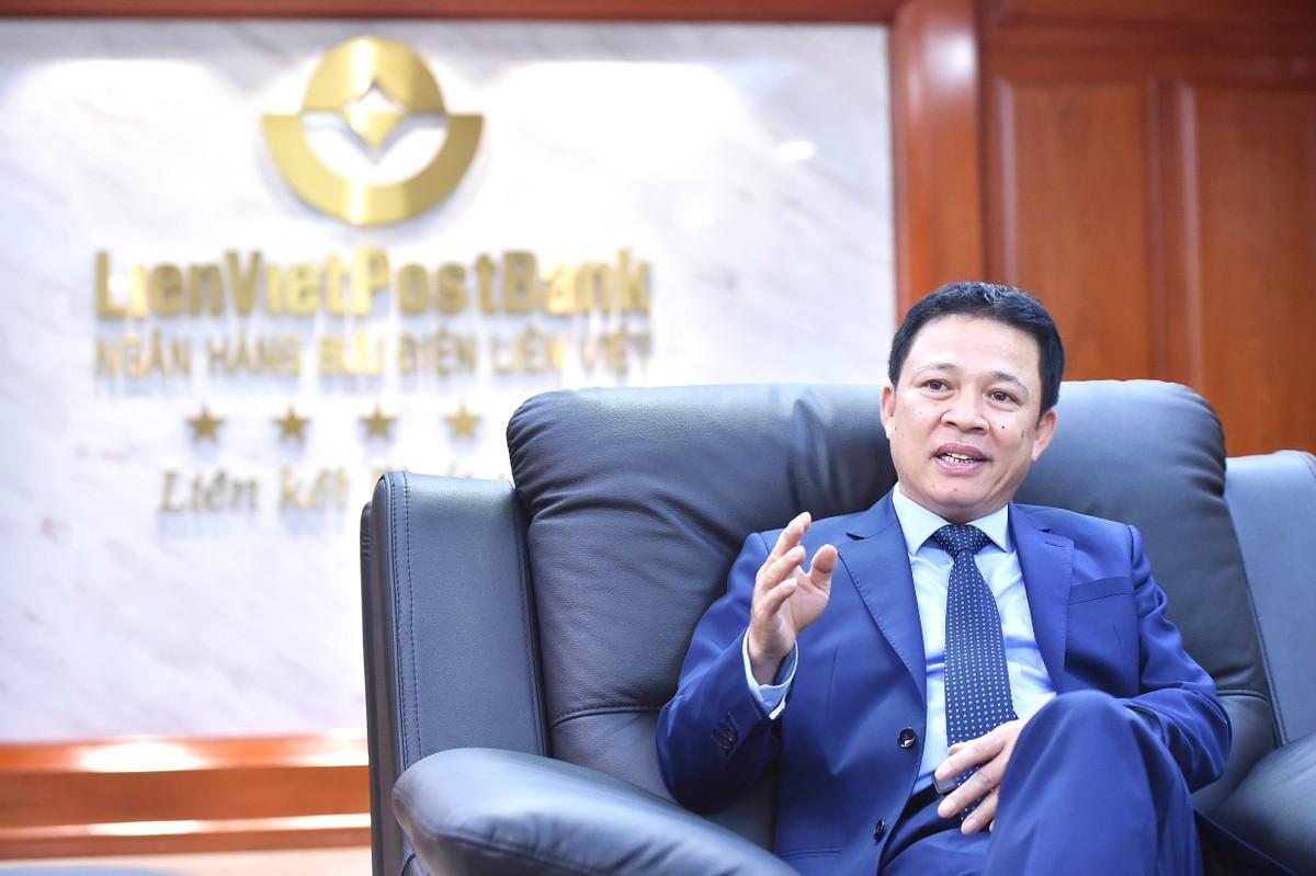 CEO LienVietPostBank Phạm Doãn Sơn: Chúng tôi lựa chọn và kiên định với lối đi riêng