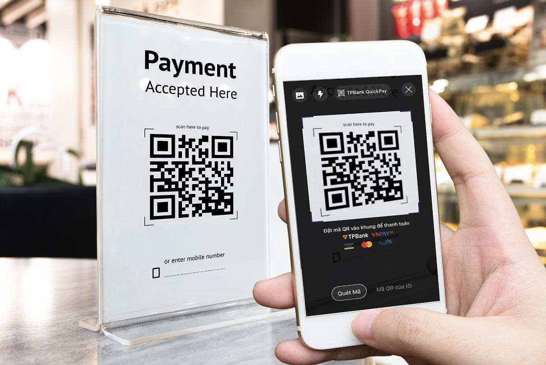 Thúc đẩy thanh toán không tiền mặt qua mã QR