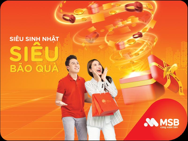 MSB dành tặng hơn 40.000 phần quà tri ân khách hàng nhân dịp sinh nhật 30 năm