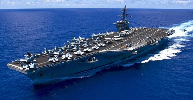 U.S. Aircraft Carrier's Port Call to Vietnam Contributes to Regional Peace: Spokesperson