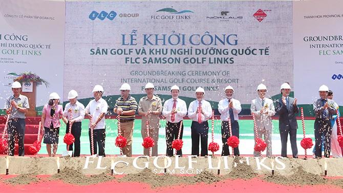 """FLC khởi công """"siêu dự án"""" tại Thanh Hóa"""