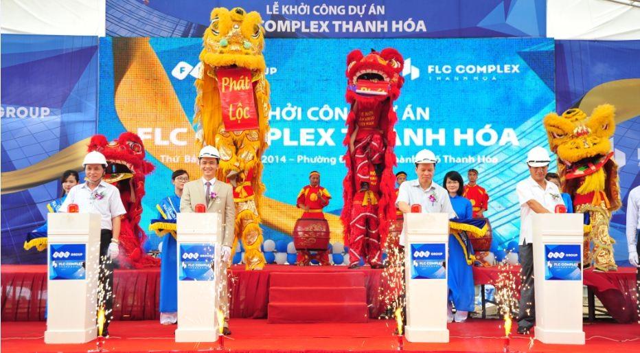 FLC khởi công tòa nhà có bãi đỗ trực thăng đầu tiên ở Thanh Hóa