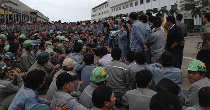 Tranh chấp ở nhà máy Hyundai Vinnashin đã lắng xuống