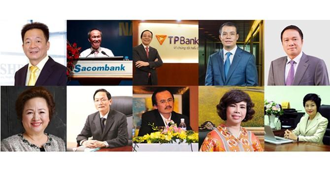 """Các sếp ngân hàng: Ai đi, ai ở trước """"giờ G""""?"""