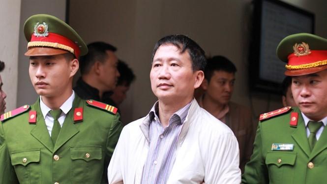 """Trịnh Xuân Thanh: """"Bị cáo không thuộc nhóm lợi ích của anh Thăng"""""""