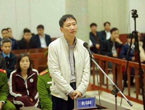 Vai trò của Trịnh Xuân Thanh trong vụ án tham ô tài sản tại PVP Land
