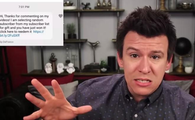 Bùng phát nạn giả dạng người nổi tiếng lừa đảo trên YouTube