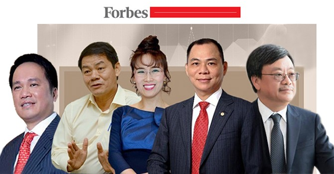 Thêm hai gương mặt Việt Nam xuất hiện trong Danh sách tỷ phú thế giới