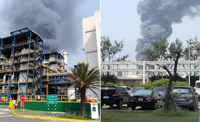 Nổ ở nhà máy hóa chất Formosa tại Đài Loan, 10.000 người sơ tán