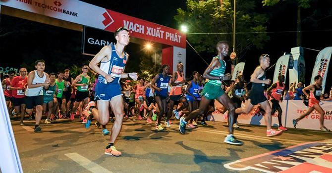 Giải Marathon quốc tế TP.HCM Techcombank khởi động mùa giải thứ 3